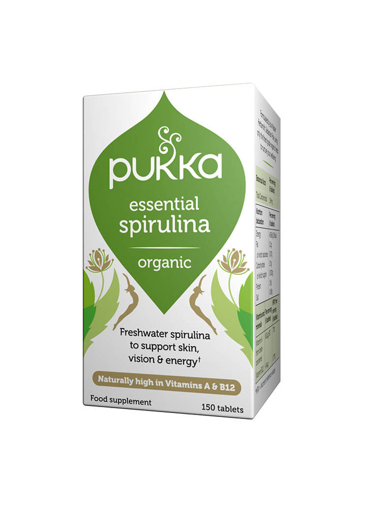 Essential Spirulina - 150 Tablets Organic