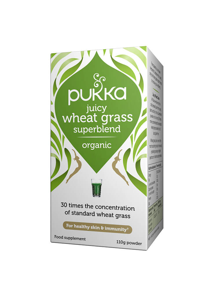 Juicy Wheat Grass - 110g Powder Organic