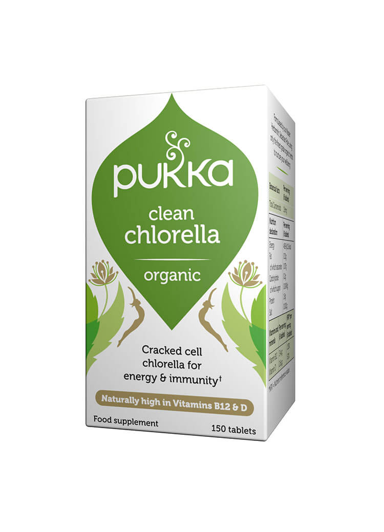 Clean Chlorella - 150 Tablets Organic